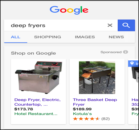 Deep fryer search result
