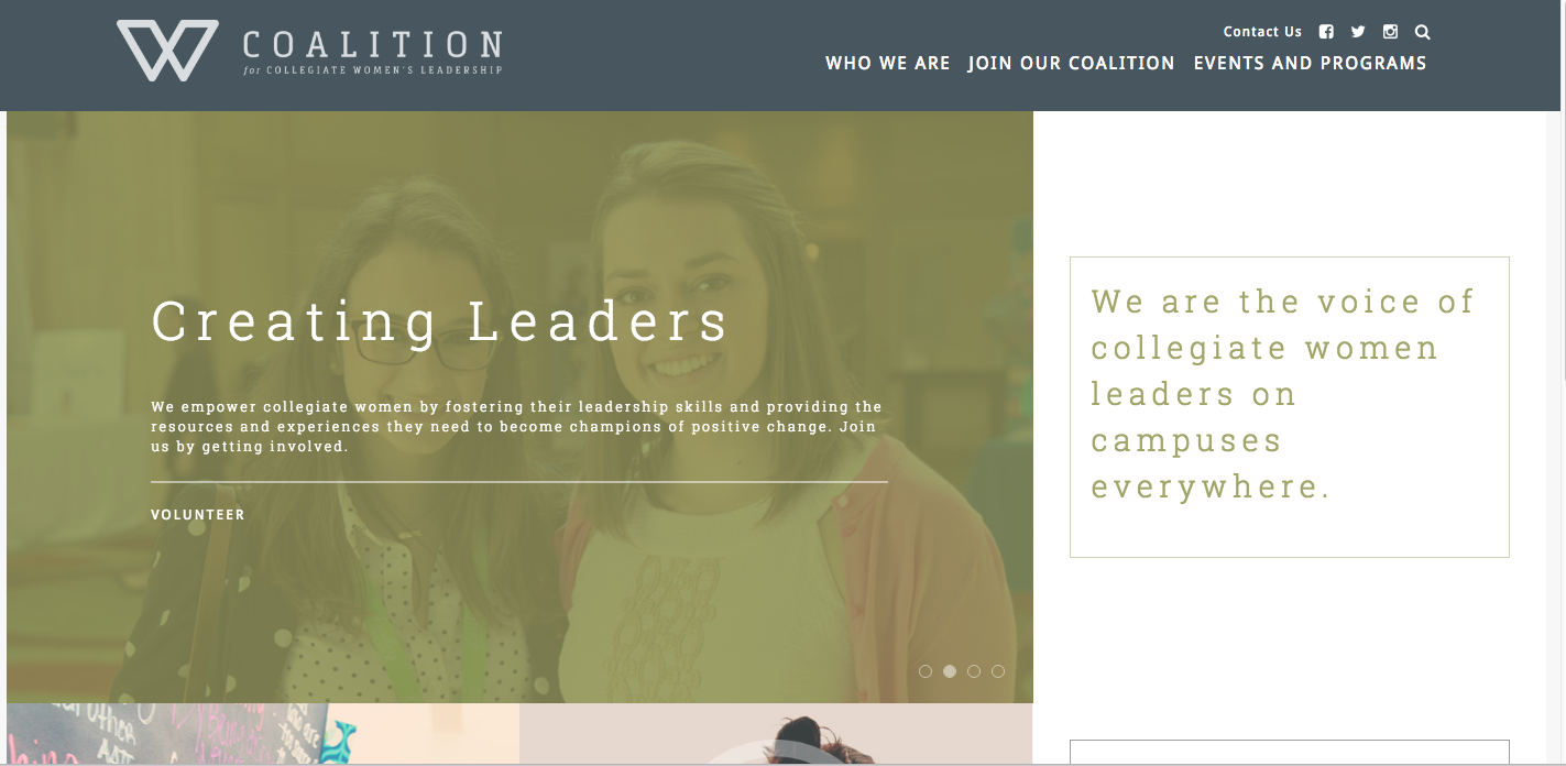 coalition-for-collegiate-womens-leadership-home-page