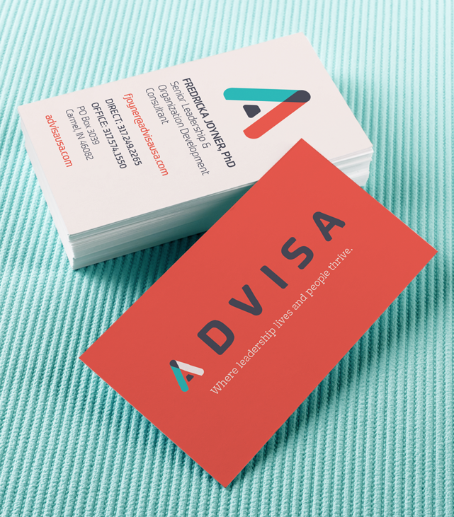 ADVISA business card