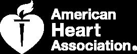 white American Heart Association Logo