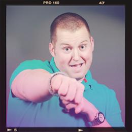 Luke Burkhart silly headshot