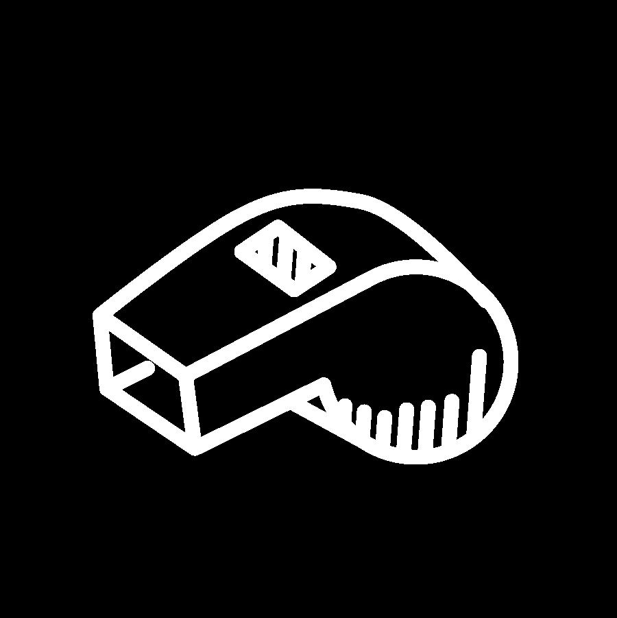 Luke Burkhart whistle icon