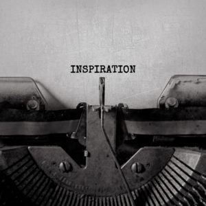 Typewriter typing Inspiration