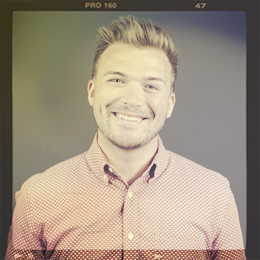 Dylan Stone, Account Manager headshot