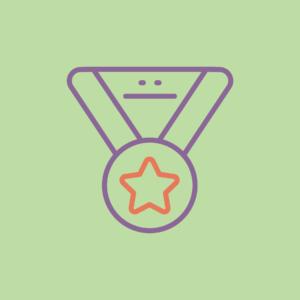 medal awarded for internship